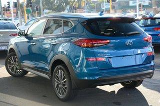 2020 Hyundai Tucson TL3 MY21 Elite AWD Aqua Blue 8 Speed Sports Automatic Wagon.