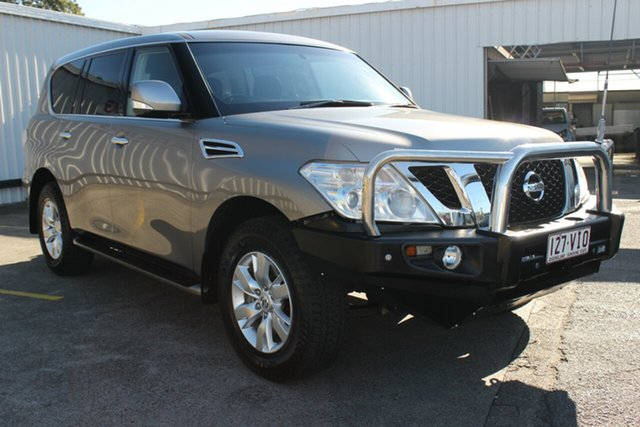 Used Nissan Patrol Y62 ST-L, 2014 Nissan Patrol Y62 ST-L Grey 7 Speed Sports Automatic Wagon