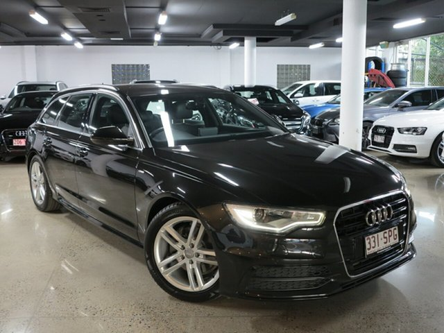 Used Audi A6 4G Avant Multitronic, 2012 Audi A6 4G Avant Multitronic Black 1 Speed Constant Variable Wagon