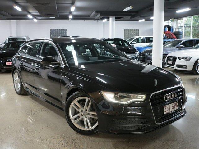Used Audi A6 4G Avant Multitronic, 2012 Audi A6 4G Avant Multitronic Black 1 Speed Constant Variable Wagon