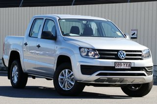 2018 Volkswagen Amarok 2H MY19 TDI420 4MOTION Perm Core Reflex Silver 8 Speed Automatic Utility.