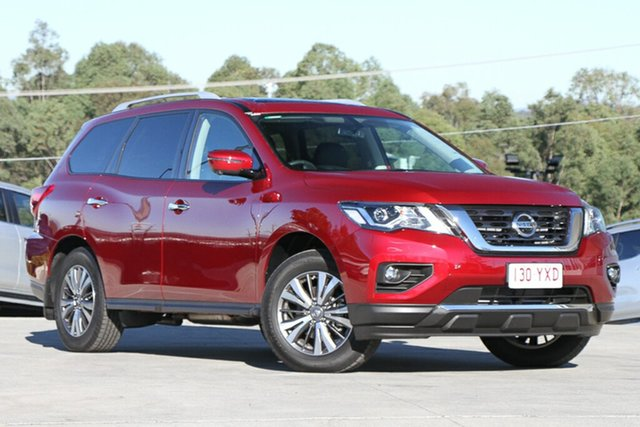 Demo Nissan Pathfinder R52 Series III MY19 ST-L X-tronic 2WD, 2018 Nissan Pathfinder R52 Series III MY19 ST-L X-tronic 2WD Cayenne Red 1 Speed Constant Variable