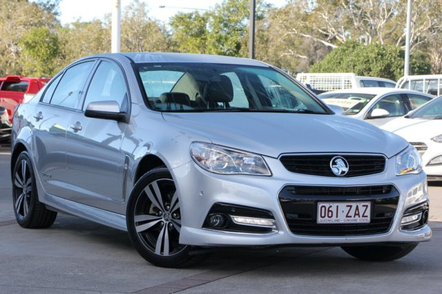 Used Holden Commodore VF MY15 SV6 Storm, 2015 Holden Commodore VF MY15 SV6 Storm Silver 6 Speed Sports Automatic Sedan