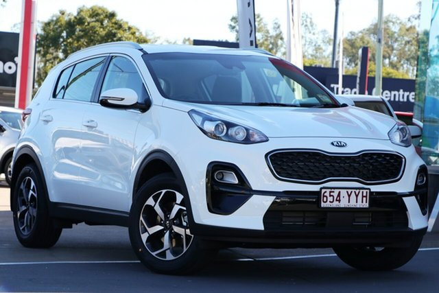 Used Kia Sportage QL MY19 Si 2WD, 2019 Kia Sportage QL MY19 Si 2WD Clear White 6 Speed Sports Automatic Wagon