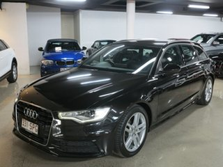 2012 Audi A6 4G Avant Multitronic Black 1 Speed Constant Variable Wagon.