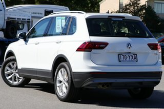 2018 Volkswagen Tiguan 5N MY19 132TSI DSG 4MOTION Comfortline Pure White 7 Speed.