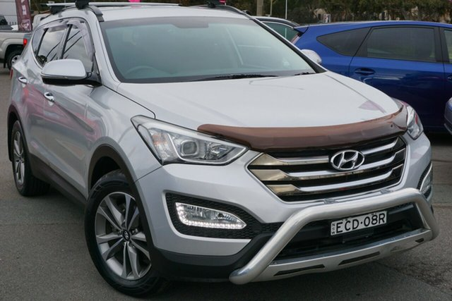 Used Hyundai Santa Fe DM MY14 Elite, 2014 Hyundai Santa Fe DM MY14 Elite Silver 6 Speed Sports Automatic Wagon