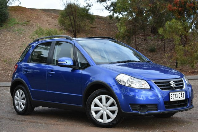 Used Suzuki SX4 GYA MY13 Crossover Navigator, 2013 Suzuki SX4 GYA MY13 Crossover Navigator Blue 6 Speed Constant Variable Hatchback