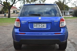 2013 Suzuki SX4 GYA MY13 Crossover Navigator Blue 6 Speed Constant Variable Hatchback