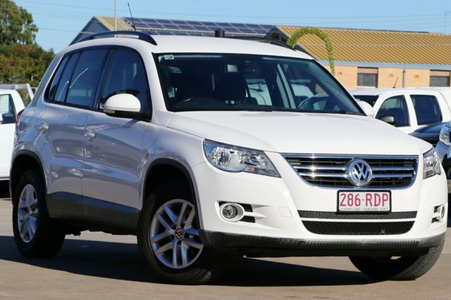 Used Volkswagen Tiguan 5N MY11 103TDI DSG 4MOTION, 2010 Volkswagen Tiguan 5N MY11 103TDI DSG 4MOTION White 7 Speed Sports Automatic Dual Clutch Wagon