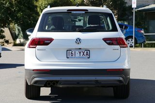 2018 Volkswagen Tiguan 5N MY19 132TSI DSG 4MOTION Comfortline Pure White 7 Speed