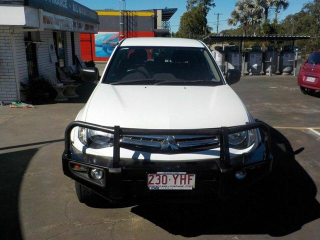 Used Mitsubishi Triton MN MY15 GLX, 2014 Mitsubishi Triton MN MY15 GLX White 4 Speed Automatic Double Cab Utility
