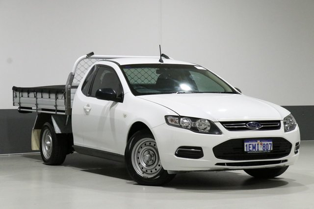 Used Ford Falcon FG MK2 (LPi), 2014 Ford Falcon FG MK2 (LPi) White 6 Speed Automatic Cab Chassis