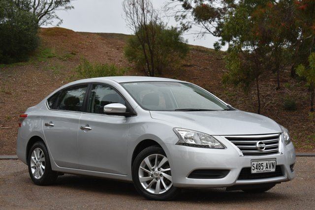 Used Nissan Pulsar B17 ST, 2013 Nissan Pulsar B17 ST Silver 6 Speed Manual Sedan