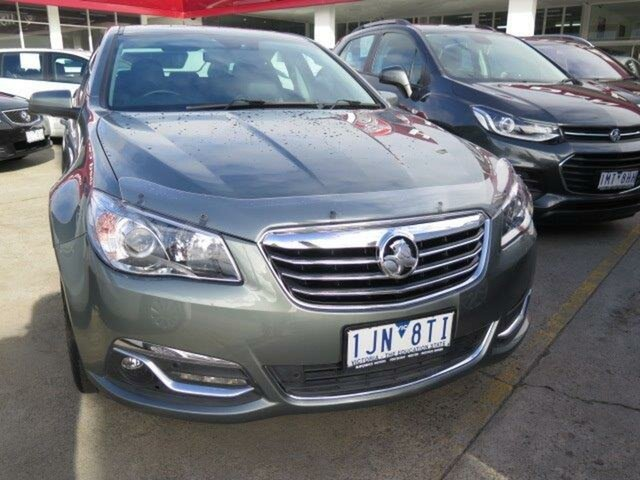Used Holden Calais VF II MY17 V, 2017 Holden Calais VF II MY17 V Prushian Steal Grey/ 6 Speed Sports Automatic Sedan
