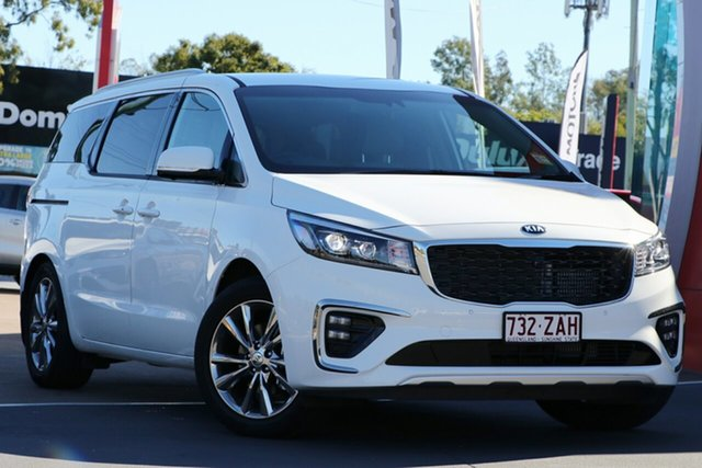 Used Kia Carnival YP MY19 Platinum, 2019 Kia Carnival YP MY19 Platinum Clear White 8 Speed Sports Automatic Wagon
