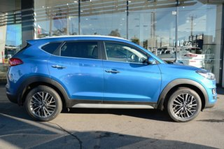 2020 Hyundai Tucson TL3 MY21 Elite AWD Aqua Blue 8 Speed Sports Automatic Wagon