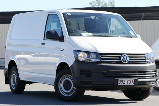Demo Volkswagen Transporter T6 MY19 TDI340 SWB DSG, 2019 Volkswagen Transporter T6 MY19 TDI340 SWB DSG Candy White 7 Speed Sports Automatic Dual Clutch