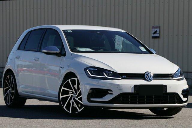 Demo Volkswagen Golf 7.5 MY18 R DSG 4MOTION, 2018 Volkswagen Golf 7.5 MY18 R DSG 4MOTION Pure White 7 Speed Sports Automatic Dual Clutch