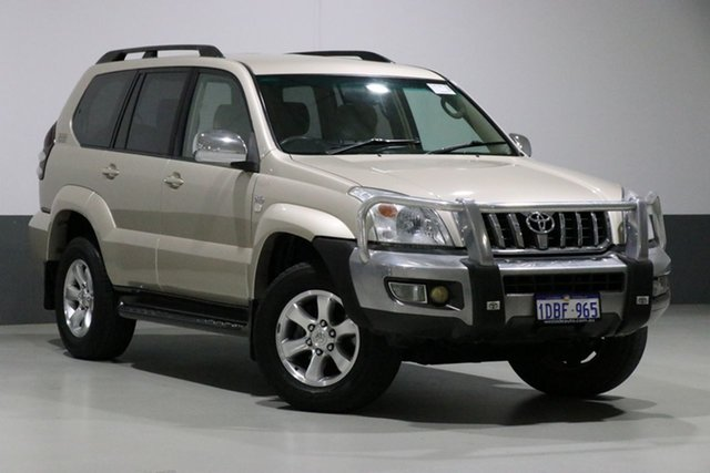 Used Toyota Landcruiser Prado KDJ120R 07 Upgrade GXL (4x4), 2009 Toyota Landcruiser Prado KDJ120R 07 Upgrade GXL (4x4) Beige 5 Speed Automatic Wagon