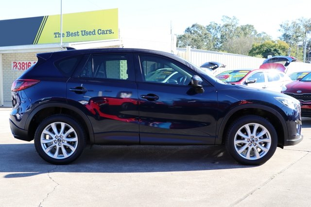 Used Mazda CX-5 KE1031 MY14 Grand Touring SKYACTIV-Drive AWD, 2013 Mazda CX-5 KE1031 MY14 Grand Touring SKYACTIV-Drive AWD Blue 6 Speed Sports Automatic Wagon