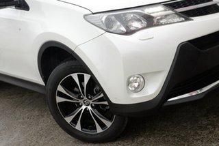 2015 Toyota RAV4 ASA44R Cruiser AWD Crystal Pearl 6 Speed Sports Automatic Wagon.