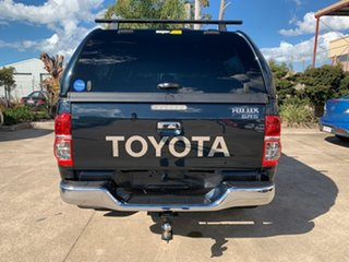 2014 Toyota Hilux KUN26R MY14 SR5 Double Cab Black 5 Speed Manual Utility