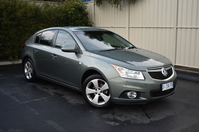Used Holden Cruze JH Series II MY14 Equipe, 2014 Holden Cruze JH Series II MY14 Equipe Prussian Steel 6 Speed Sports Automatic Sedan