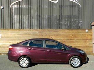 2010 Ford Fiesta WT LX Purple 5 Speed Manual Sedan.