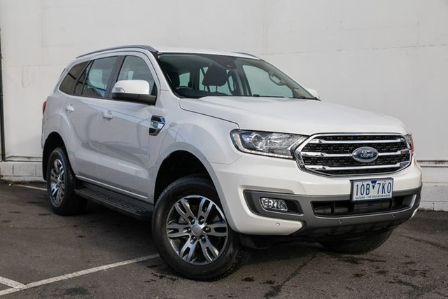 Used Ford Everest UA II 2019.00MY Trend RWD, 2018 Ford Everest UA II 2019.00MY Trend RWD White 10 Speed Sports Automatic Wagon