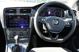 2018 Volkswagen Golf 7.5 MY19 110TSI DSG Comfortline Pure White 7 Speed Sports Automatic Dual Clutch