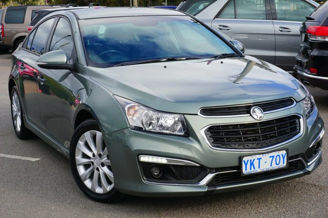 Used Holden Cruze JH Series II MY15 SRi, 2015 Holden Cruze JH Series II MY15 SRi Grey 6 Speed Sports Automatic Hatchback