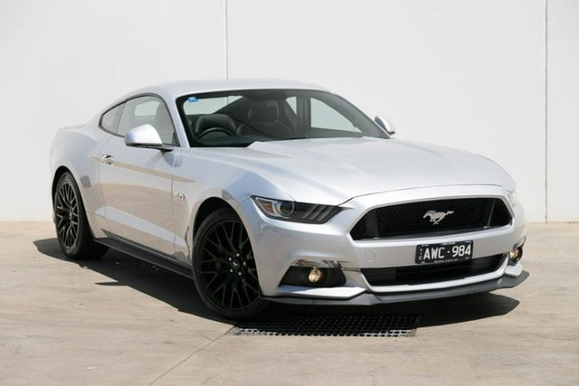 Demo Ford Mustang  , 2017 Ford Mustang Ingot Silver Fastback
