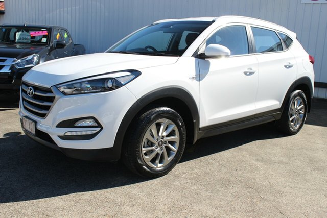 Used Hyundai Tucson TL2 MY18 Active AWD, 2017 Hyundai Tucson TL2 MY18 Active AWD White 6 Speed Sports Automatic Wagon