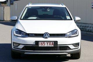 2018 Volkswagen Golf 7.5 MY19 Alltrack DSG 4MOTION 132TSI Premium Pure White 6 Speed