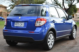 2013 Suzuki SX4 GYA MY13 Crossover Navigator Blue 6 Speed Constant Variable Hatchback.