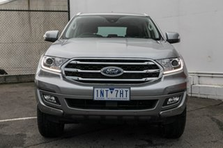 2018 Ford Everest UA II 2019.00MY Trend RWD Silver 10 Speed Sports Automatic Wagon