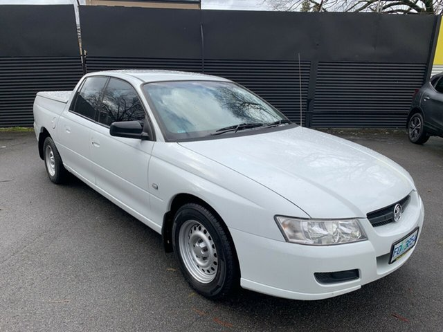 Used Holden Crewman VZ MY06 , 2007 Holden Crewman VZ MY06 Heron White 4 Speed Automatic Utility