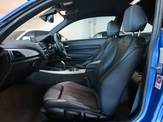 2017 BMW 2 Series F22 LCI 220i M Sport Estoril Blue 8 Speed Sports Automatic Coupe