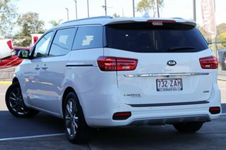 2019 Kia Carnival YP MY19 Platinum Clear White 8 Speed Sports Automatic Wagon.