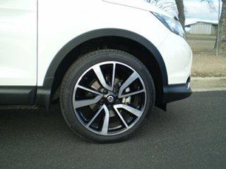 2014 Nissan Qashqai J11 TI Ivory Pearl 1 Speed Constant Variable Wagon.