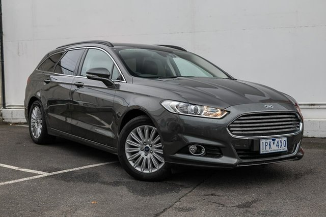 Used Ford Mondeo MD 2017.00MY Trend PwrShift, 2017 Ford Mondeo MD 2017.00MY Trend PwrShift Grey 6 Speed Sports Automatic Dual Clutch Wagon