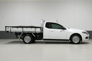 2014 Ford Falcon FG MK2 (LPi) White 6 Speed Automatic Cab Chassis