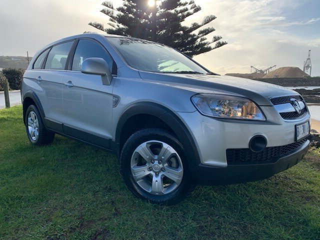 Used Holden Captiva CG MY09.5 SX AWD, 2009 Holden Captiva CG MY09.5 SX AWD Nitrate 5 Speed Sports Automatic Wagon