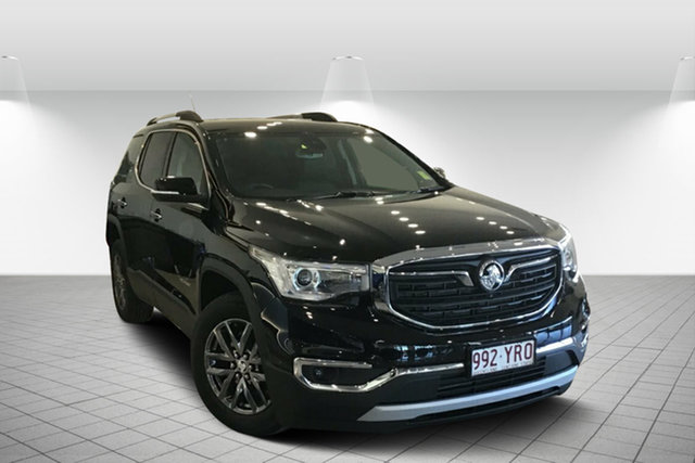 Used Holden Acadia AC MY19 LTZ AWD, 2019 Holden Acadia AC MY19 LTZ AWD Mineral Black 9 Speed Sports Automatic Wagon