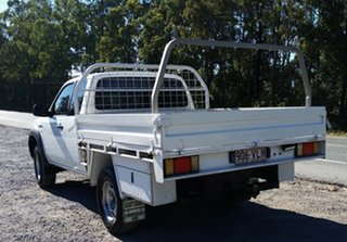 2008 Ford Ranger PJ XL Super Cab 4x2 Hi-Rider White 5 Speed Manual Cab Chassis