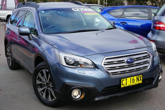 Used Subaru Outback B6A MY16 2.0D CVT AWD Premium, 2016 Subaru Outback B6A MY16 2.0D CVT AWD Premium Grey 7 Speed Constant Variable Wagon