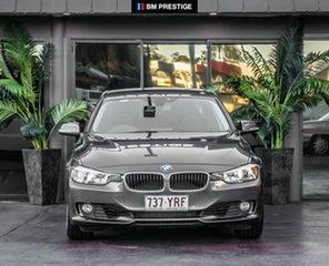 2012 BMW 320i F30 320i Grey 8 Speed Sports Automatic Sedan.