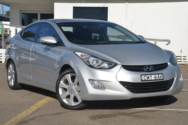 Used Hyundai Elantra MD Premium, 2012 Hyundai Elantra MD Premium Silver 6 Speed Sports Automatic Sedan