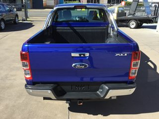 2014 Ford Ranger PX XLT Super Cab Blue 6 Speed Manual Utility